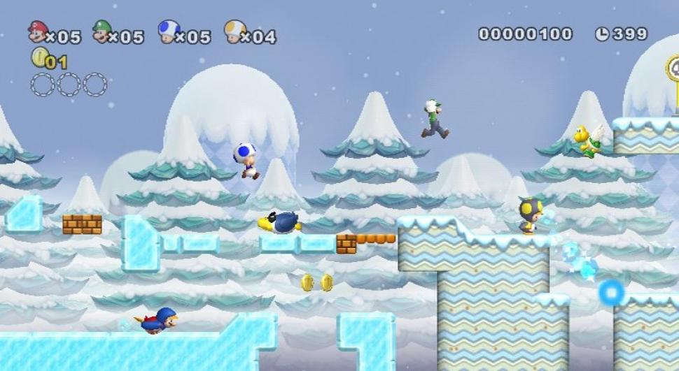 New Super Mario Bros. Wii - Screenshots aus dem Wii-Hüpfabenteuer (1)