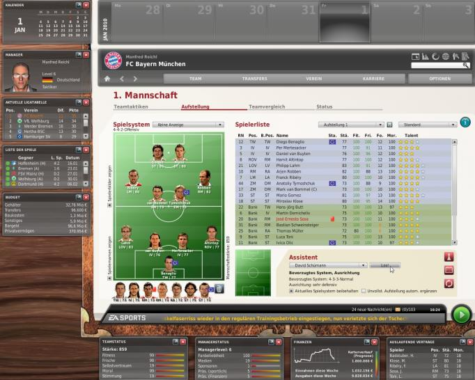 fussball manager 2010 morgen kostenloses fifa wm update gamesaktuell games fun entertainment. Black Bedroom Furniture Sets. Home Design Ideas