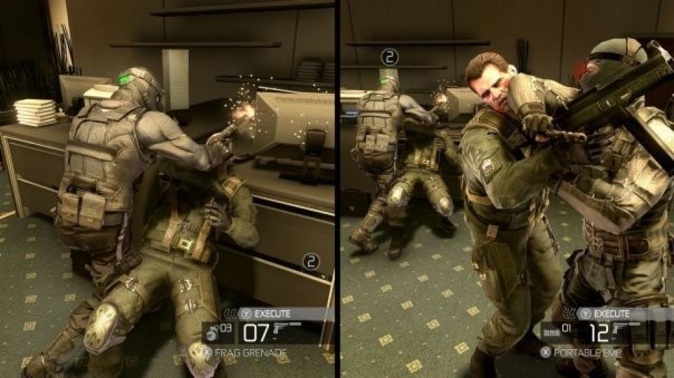 Splinter Cell Conviction Split Screen
