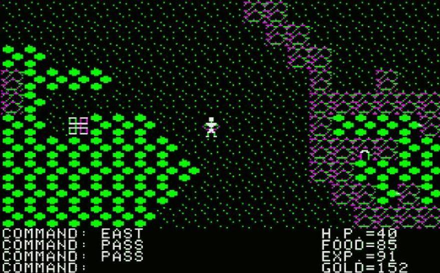 Как и Akalabeth, первоначально игра была доступна лишь в версии для Apple I