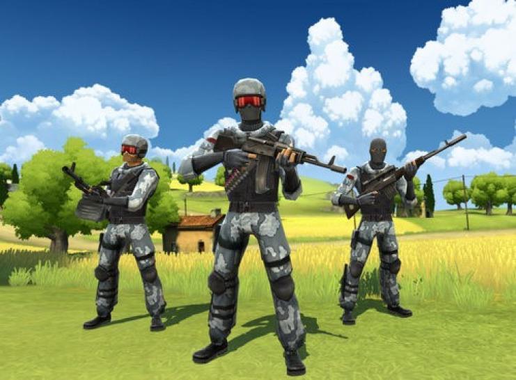 Обзор игры: Battlefield Heroes.