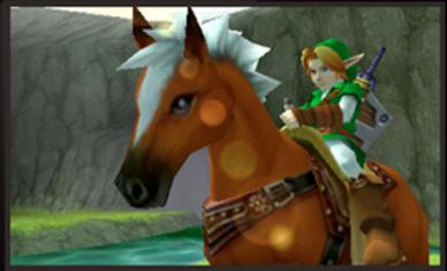20) The Legend of Zelda: Ocarina of Time 3D (3DS)