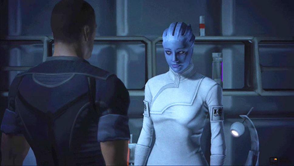 В Bioware RPG, Mass Effect, игра позволяет персонажу игрока начать
