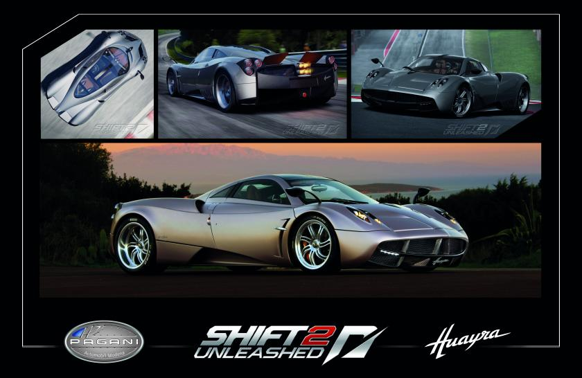 Der Pagani Huayra ist der Star eines neuen Gameplay-Videos zu Need for Speed: Shift 2 Unleashed. (1)