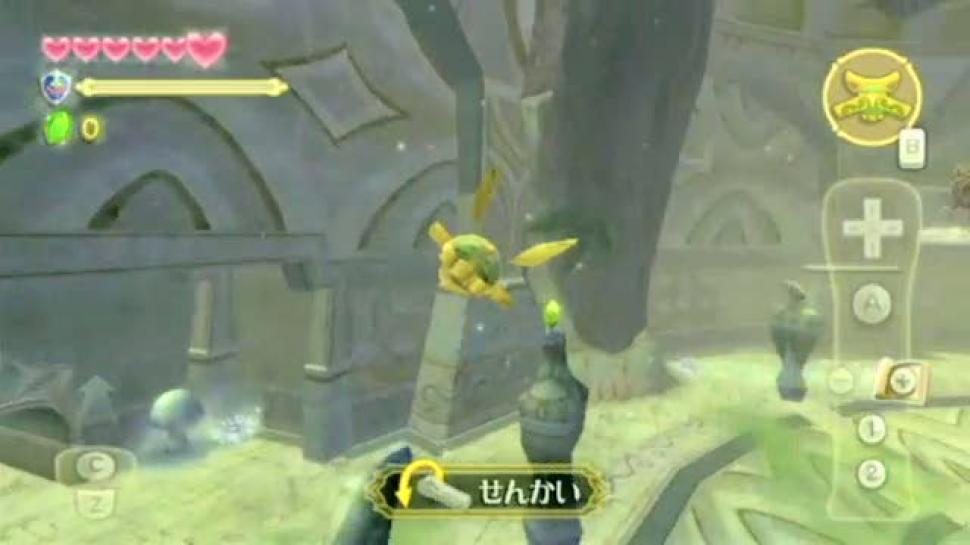 Es gibt ein neues Gameplay-Video zu The Legend of Zelda: Skyward Sword. (1)