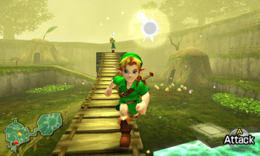 New Screenshots of Zelda: Ocarina of Time 3D. (2)