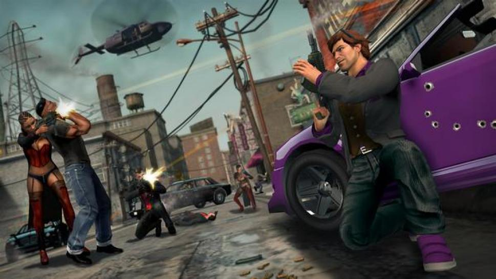 Screenshots aus Saints Row: The Third.