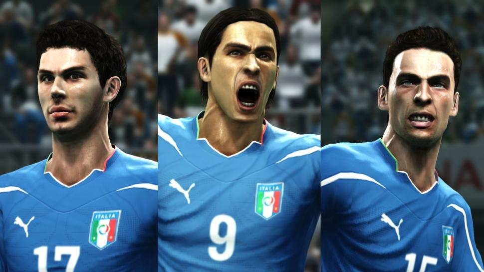 Screenshots aus PES 2012. (1)