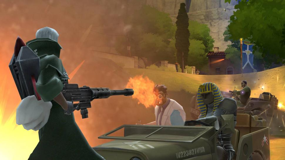 Screenshots aus dem Free2Play Shooter Battlefield Heroes. (1)
