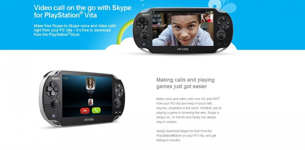 skype download auf ps vita