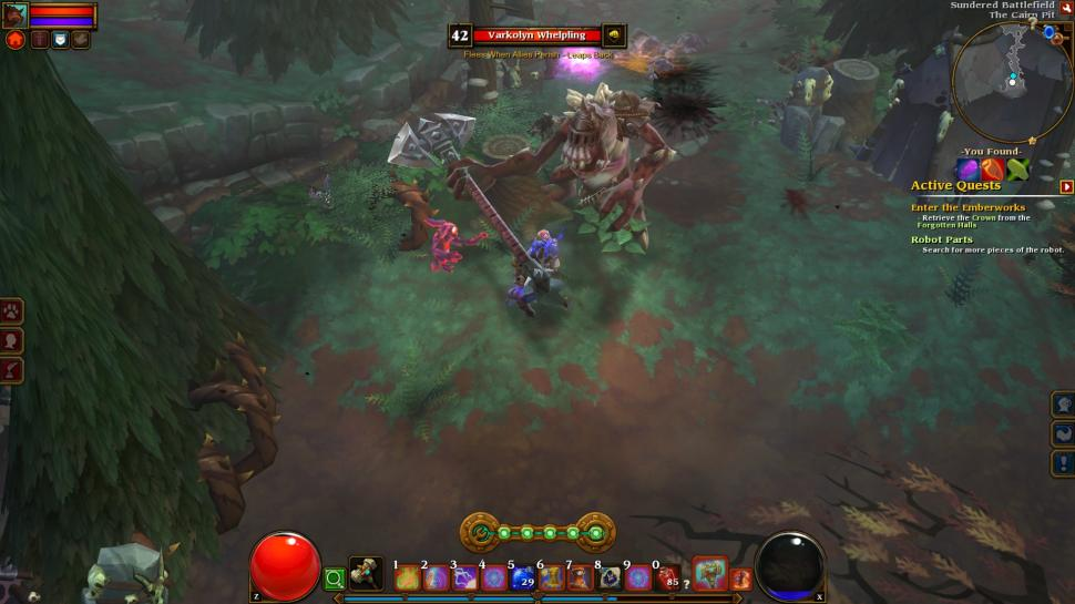 Download Torchlight Patch v1 1. 5 now from AusGamers-its free, and no signu