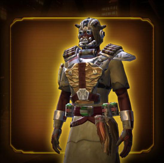 Neues Objekt in SWTOR: Sand People Pillager Armor Set