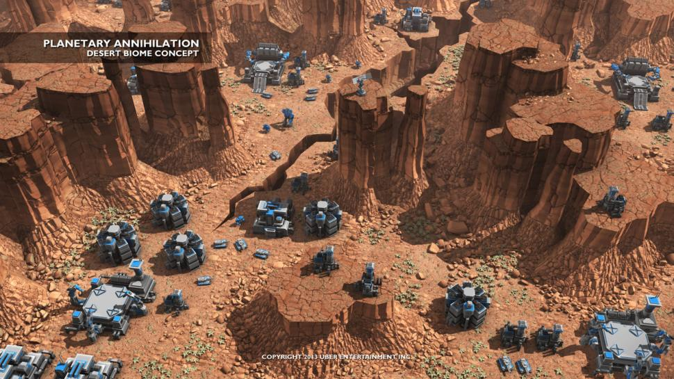 Planetary Annihilation im neuen Gameplay-Video. (1)