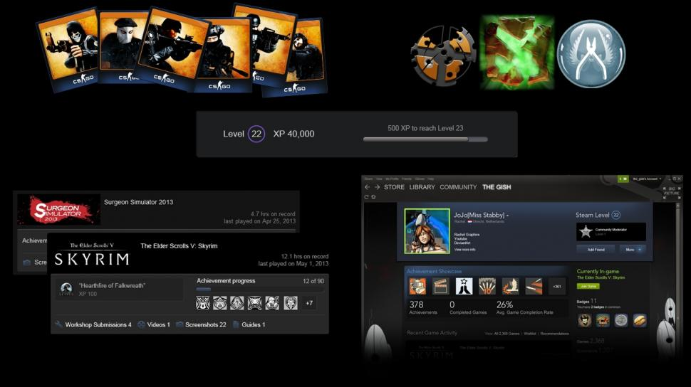 Steam Trading Cards: Neues Feature für Valves Spiele-Plattform. (1)