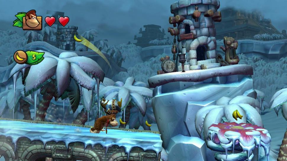 Donkey Kong Country: Tropical Freeze - Bilder aus dem Wii U-Hüpfspiel. (1)