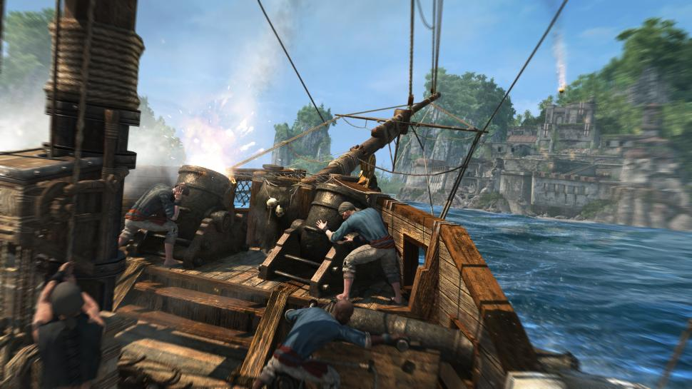 Ubisoft: Assassin's Creed 4: Black Flag, The Crew, Splinter Cell: Blacklist, Rayman Legends und mehr auf der Gamescom 2013 anspielen. (1)