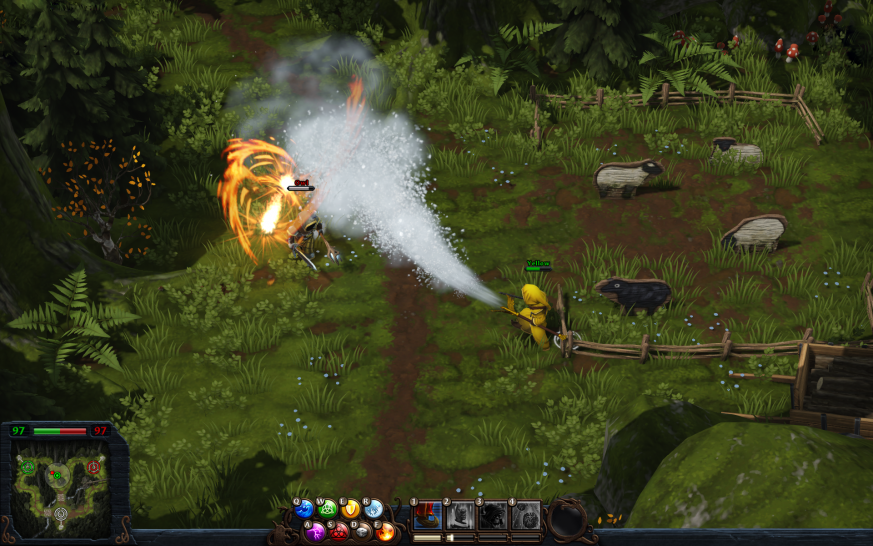 Magicka: Wizard Wars ist in die Early-Access-Phase auf Steam gestartet.  (1)