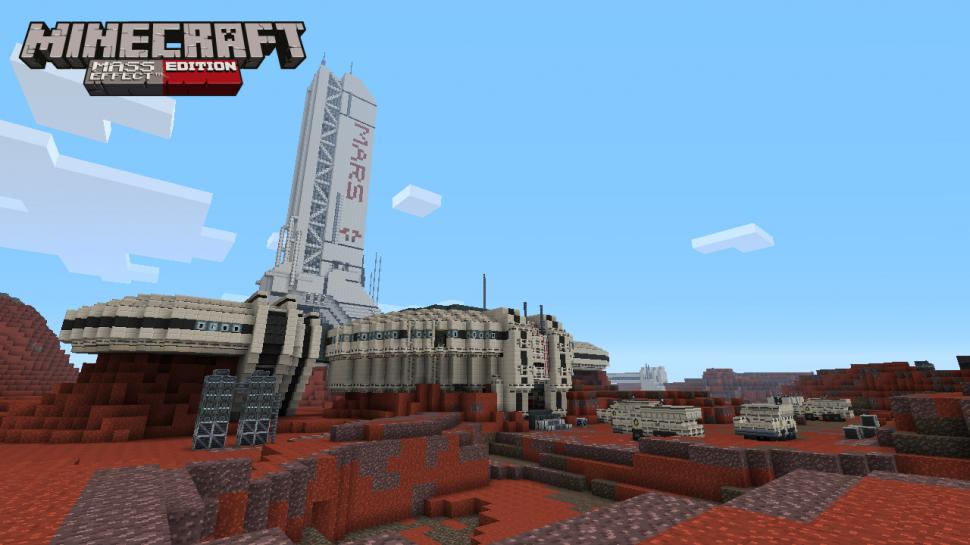Minecraft: Das Mass Effect Mash-Up Pack erscheint am 4. September 2013. (1)