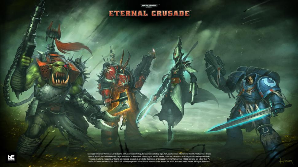 Behaviour Interactive zeigt neue Szenen aus der Alpha-Version von Warhammer 40.000: Eternal Crusade. (1)