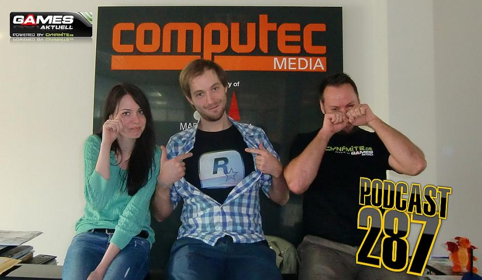 Games Aktuell Podcast 287: Katha, Dom, Andy