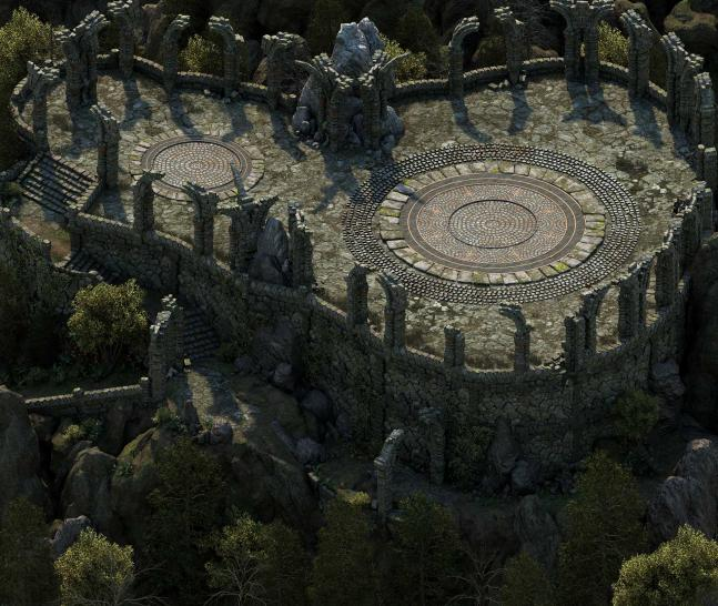 Pillars of Eternity: Charakterbogen und Twin Elms auf neuen Screenshots. (1)
