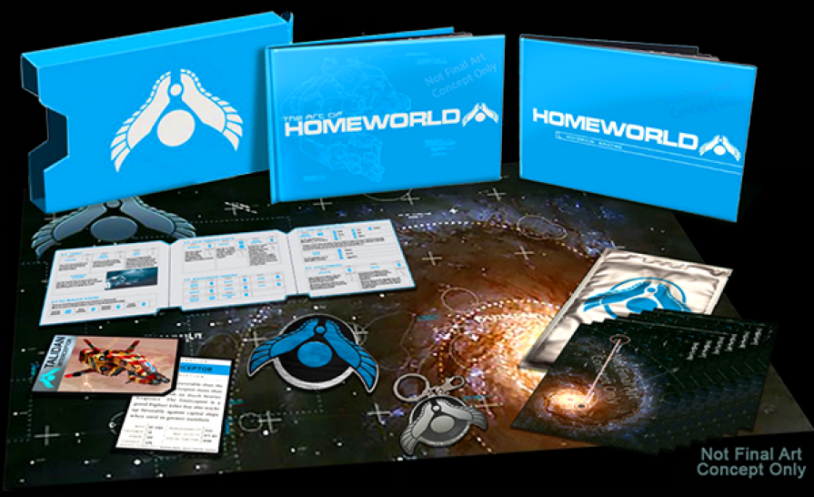 Homeworld Remastered lautet der neue Name des HD-Remakes. (1)