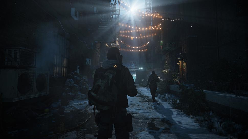 In der Green Zone starten alle Spieler von The Division. (1)