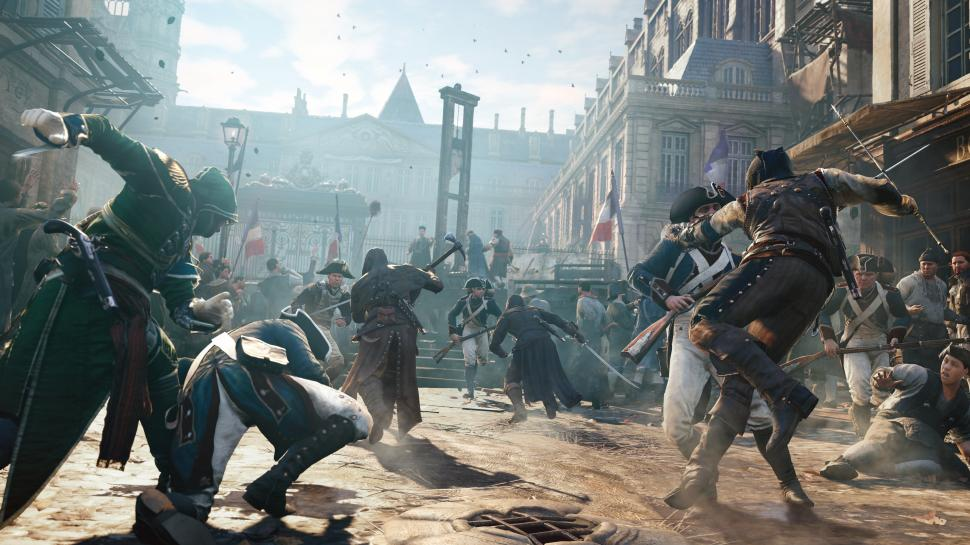 Sowohl auf PS4 als auch Xbox One ist Assassin's Creed Unity in 900p bei 30 FPS spielbar. (1)