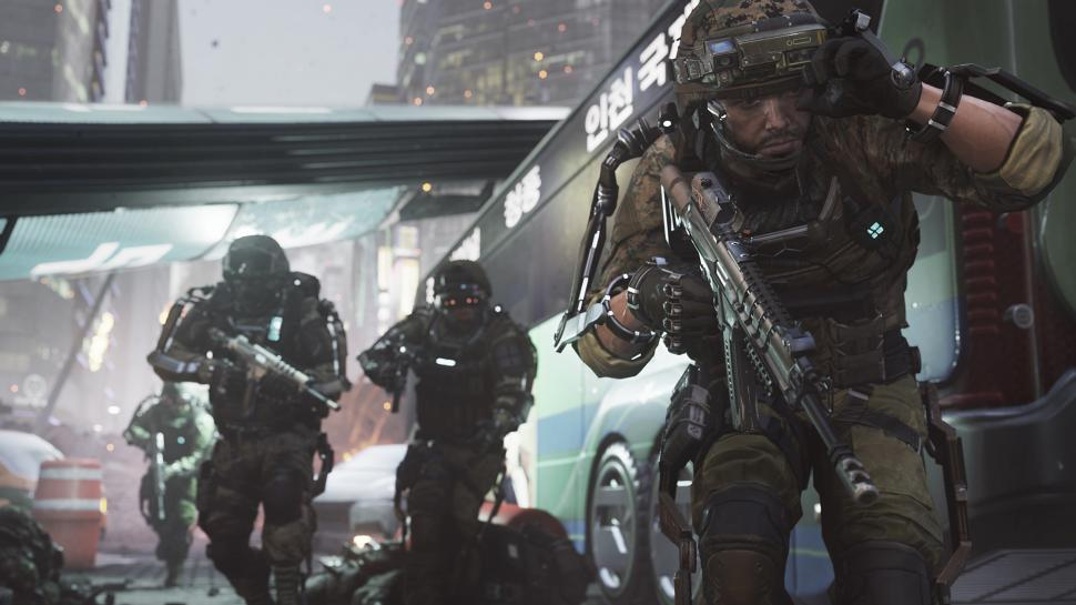 Activision und Sledgehammer enthüllen den Multiplayer-Part von Call of Duty: Advanced Warfare noch im Vorfeld der Gamescom 2014. Via Übertragung auf Xbox Live. (1)