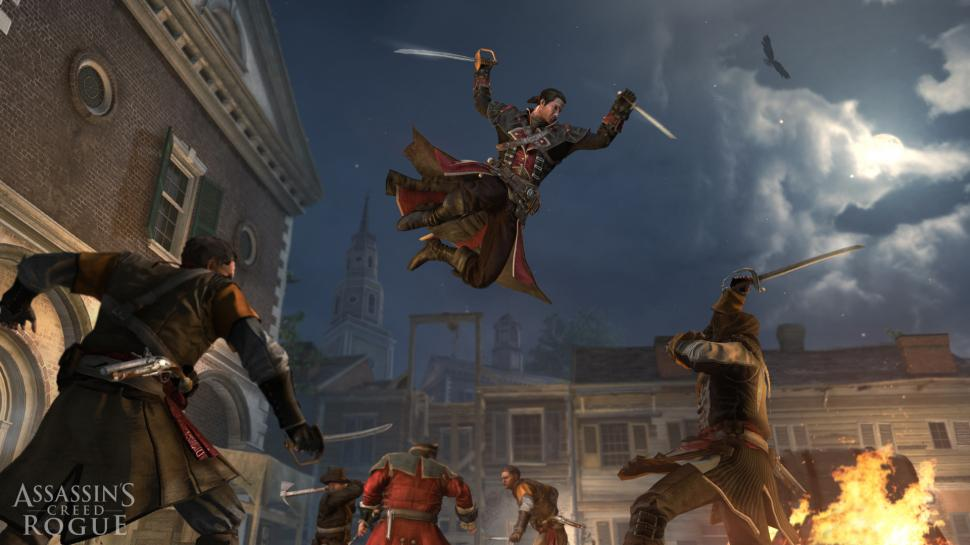 Assassin's Creed Rogue spielt zwischen Assassin's Creed 4 und Assassin's Creed 3. (1)