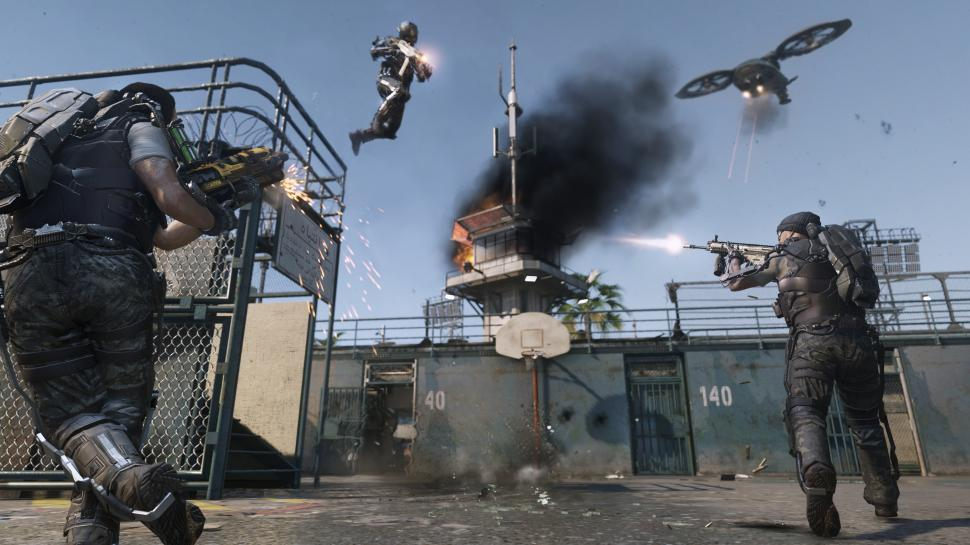 Die Downloadgröße von Call of Duty: Advanced Warfare beträgt knapp 40 Gigabyte auf PlayStation 4. (1)