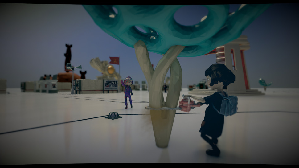 The Tomorrow Children im Let's Play: Wir präsentieren euch umfassende Gameplay-Szenen zum PS4-Sandbox-Shooter von Q-Games. (1)