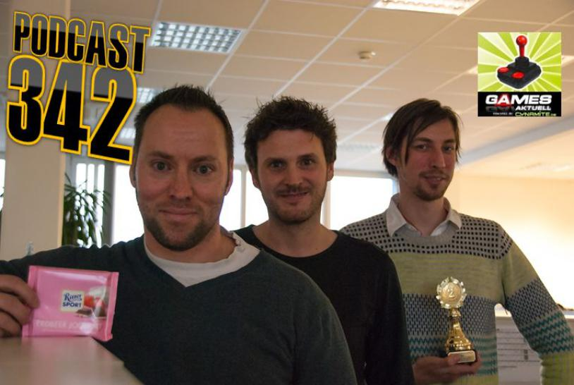 Games Aktuell Podcast 342: Andy, Martin, Stefan