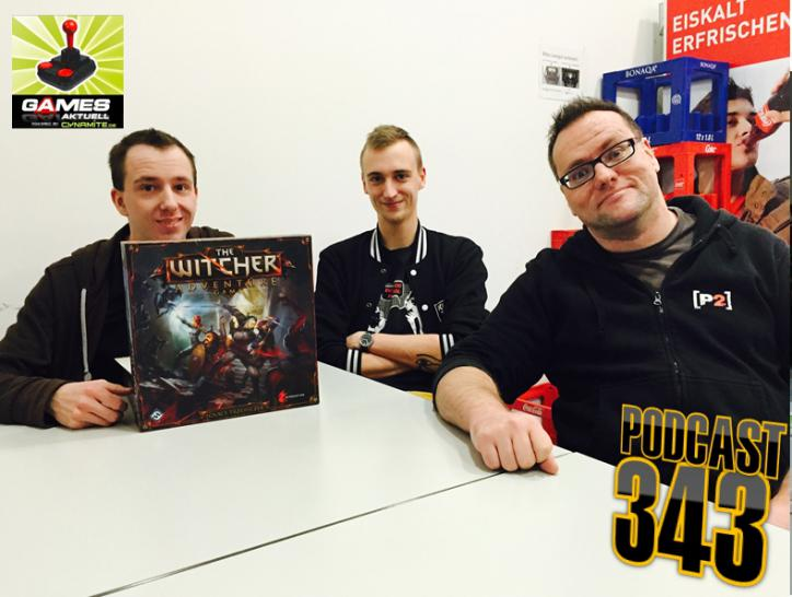 Games Aktuell Podcast 343: Peter, Vali, Thomas