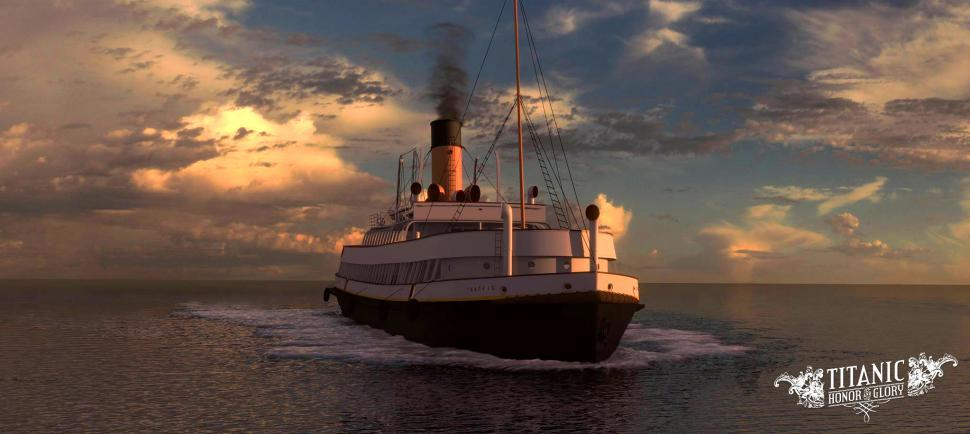 Indie-Entwickler Four Funnels Entertainment präsentiert das grafisch beeindruckende Mystery-AdventureTitanic: Honor and Glory im Crowdfunding-Video. (1)