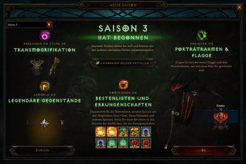 Diablo 3: Reaper of Souls - Patch 2.2.0 ist da. (1)