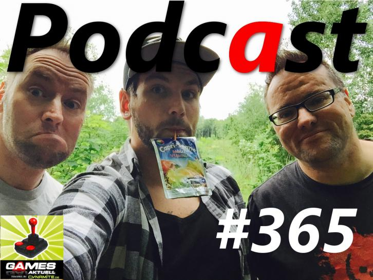Games Aktuell Podcast 365: Andy, Olli, Thomas