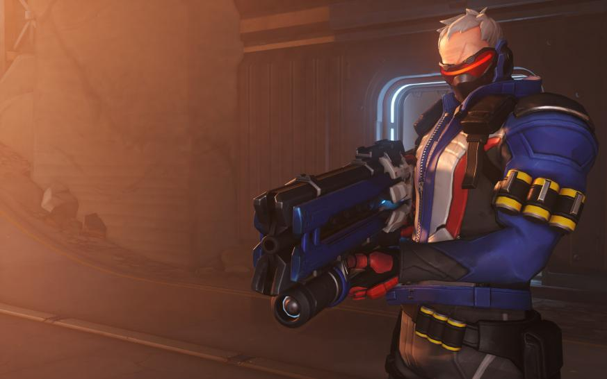 Soldier: 76 heißt ein weiterer Charakter in Blizzards Shooter Overwatch.