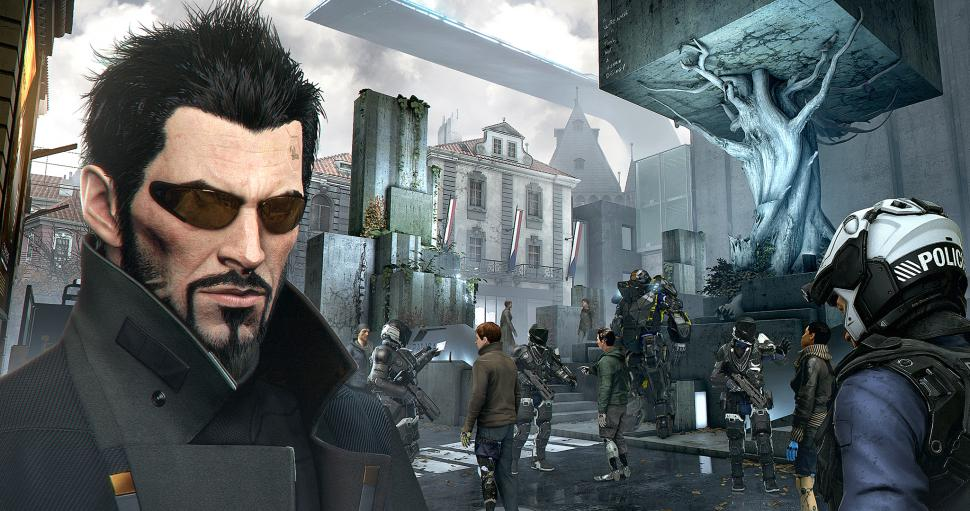 Eidos Montreal erläutert die Gameplay-Features von Deus Ex: Mankind Divided. (1)