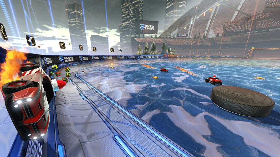 Am 14. Dezember wirds winterlich in Rocket League.  (1)