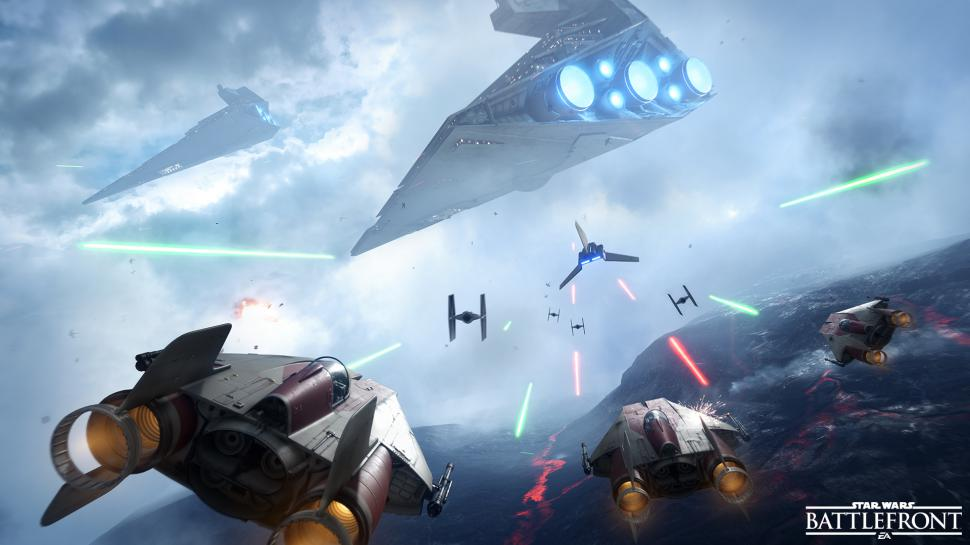 Star Wars: Battlefront - Dice veröffentlicht Statistikdaten zum Science-Fiction-Shooter. (1)