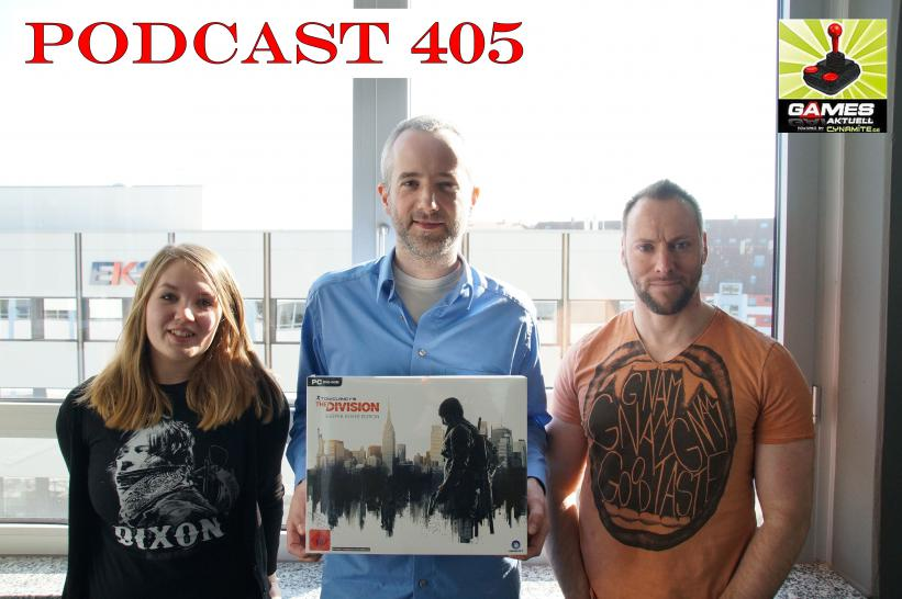 Games Aktuell Podcast 405: Isabel, Tobias, Andy