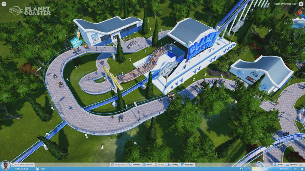 Planet Coaster macht rüber nach Steam. (1)