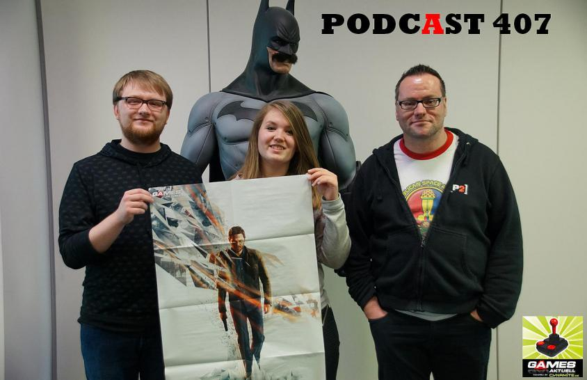 Games Aktuell Podcast 407: Julian, Isa, Thomas