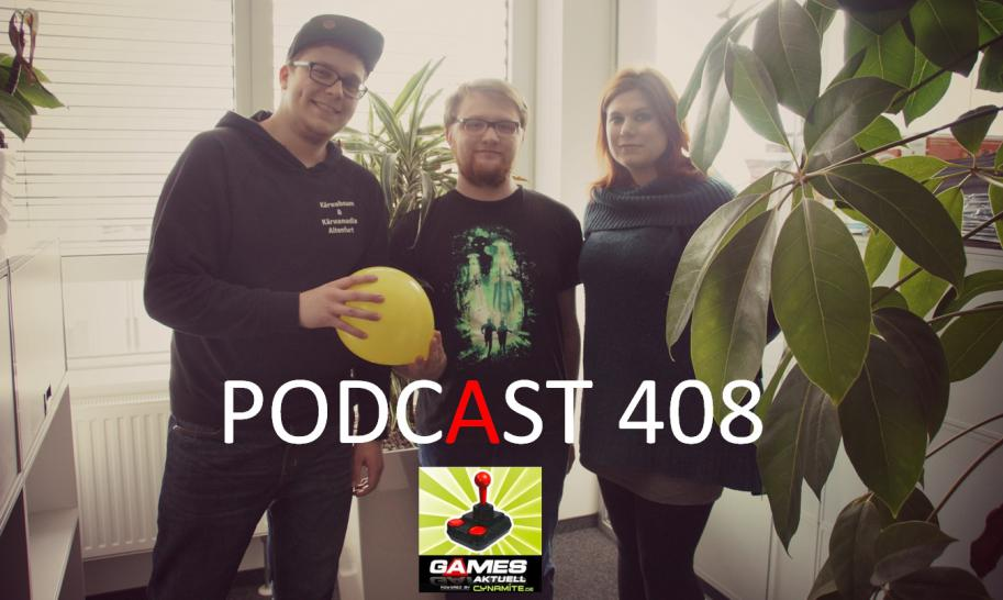 Games Aktuell Podcast 407: Luca, Julian, Katha [Quelle: Games Aktuell]