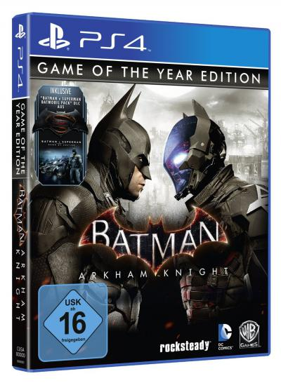 Batman: Arkham Knight: Amazon listet Game of the Year Edition, offizielle Ankündigung steht noch aus (1)