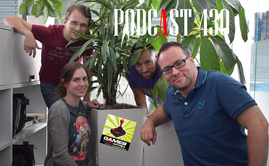 Games Aktuell Podcast 430: Max, Katha, Andy, Thomas