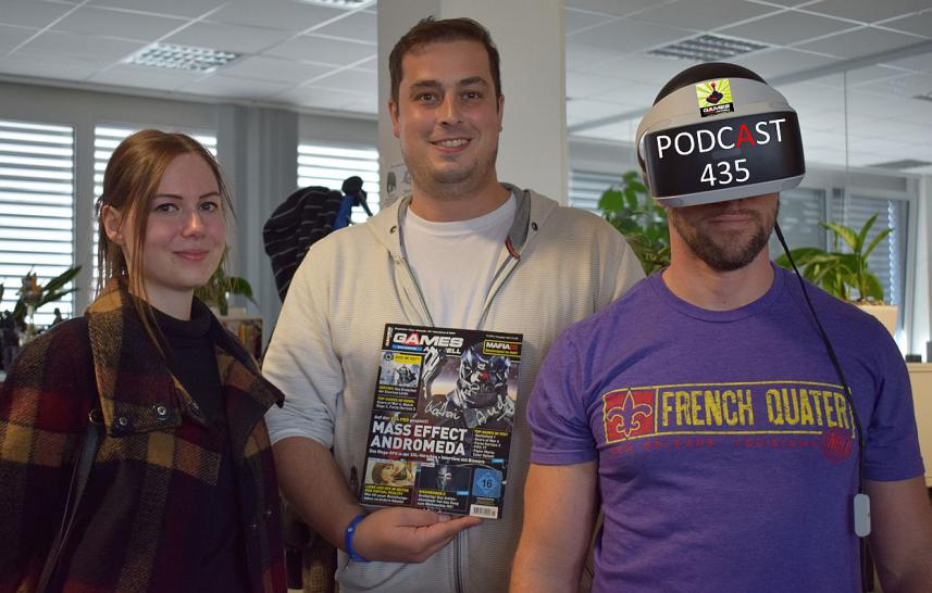 Games Aktuell Podcast 435: Katha, Marc, Andy