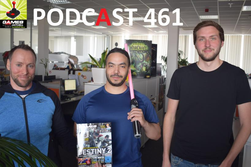 Games Aktuell Podcast 461: Andy, ZAM, Michael