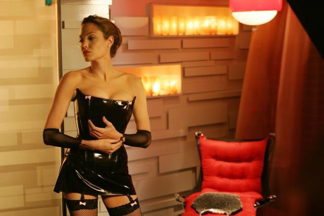 Angelina Jolie nackt, Oben ohne Bilder, Playboy Fotos,